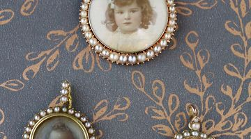 Vintage Open Lockets