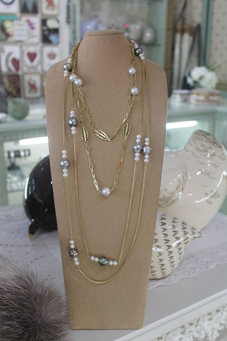 Pearls on Guard Chains