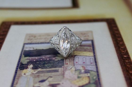 Art Deco Marquise 1.6ct Ring