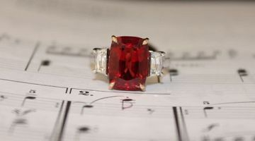 Stunning Red Spinel Handmade Ring