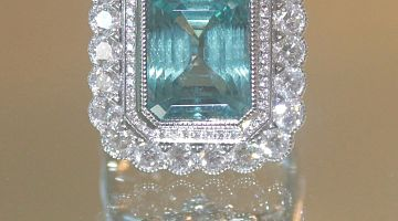 Fine Blue Aquamarine 10.72ct